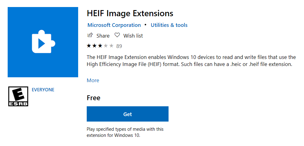 Open Images in HEIF Format